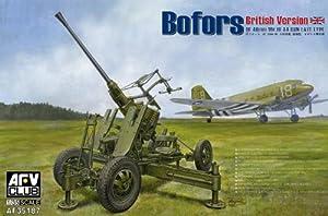 AFV Club AF35187 verso británica de Bofors AA Pistola MkIII, armas y defensa tecnología, 40 mm