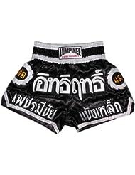 Lumpinee Muay Thai Kick Boxeo Pantalones Boxeo Tailandes : LUM-002 Talla M