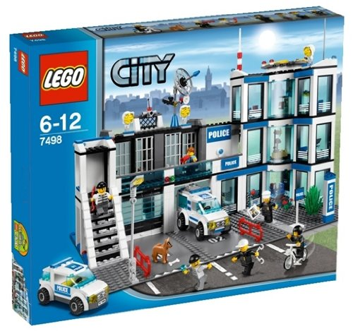Die besten LEGO City Sets 2017 Lego City 7498 - Polizeistation