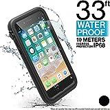 Catalyst Funda Impermeable iPhone 8 con Correa, Material de Grado Militar a Prueba de Impactos y caídas, natación, Accesorios para cruceros, iPhone 8 Waterproof Case - Negro