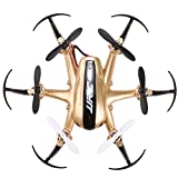 Arshiner JJRC H20 Mini RC Hexacopter 2.4G 4 channel 6-Axis Gyro Nano Drone with the CF mode/One button return RTF