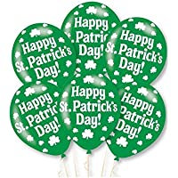 Amscan 9900227 Happy St Patrick's Day Latex Balloon (Pack of 6)