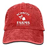 Schrute Farms Bed Breakfast Beets Denim Hat Men Plain Baseball cap Design12
