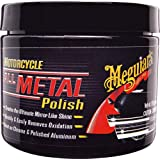 Meguiars All Metal Polish - Abrillantador de metal para motos (197 g)