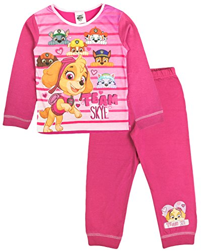 PAW PATROL Pyjamas Boy/'s Chase Marshall /& Rubble PJs Sizes 18 months-5 years