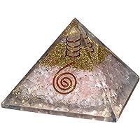Crocon Rosenquarz Energetische Reiki Healing Kristall Point Pyramide Chakra Balancing Energie Generator Größe:... preisvergleich bei billige-tabletten.eu