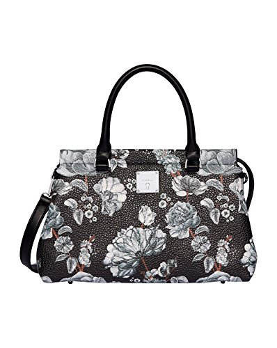 Fiorelli Damen Colette Shopper, 15x32x20 centimeters Mehrfarbig (Black Botanical)