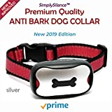 NEW Anti Barking Dog Collars | No Bark Humane & No Harm Device|