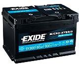 Exide EK800 Start-Stop Agm 12V 80AH 800A