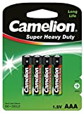 Camelion R03P-BP4G Zinc-carbono 1.5V batería