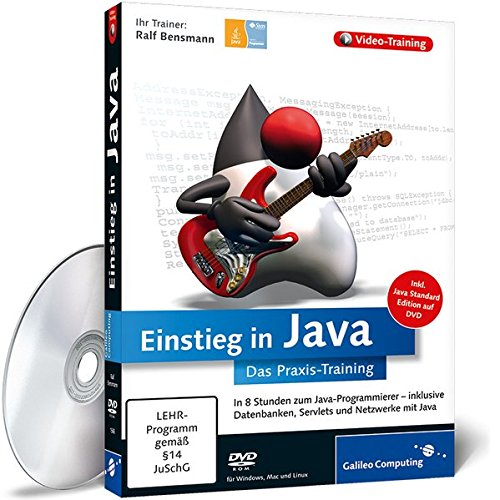Einstieg in Java – Das Video-Training auf DVD