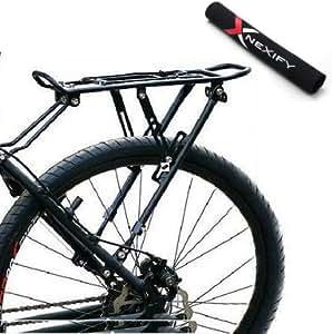 nexify fahrrad gep cktr ger hinten h lt taschen rucks cke aktentaschen geldb rsen mehr. Black Bedroom Furniture Sets. Home Design Ideas
