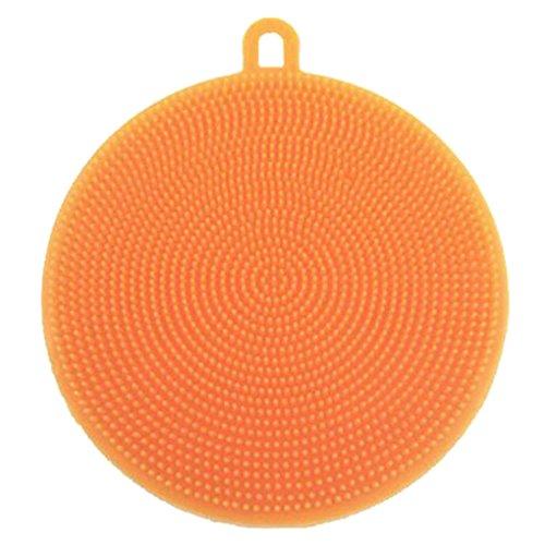 NAYUKY Multifunción Almohadilla para Fregar Ollas para Lavar ollas Magic Silicon Dish Bowl Cepillo...