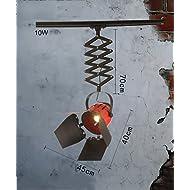 ZGW Projecteurs Spotlights à LED à tête unique Éclairage de piste Plein feux de fond de plafond personnalisé au mur ( Couleur : B-10W )