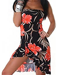 JELA London Damen Bandeau Kleid