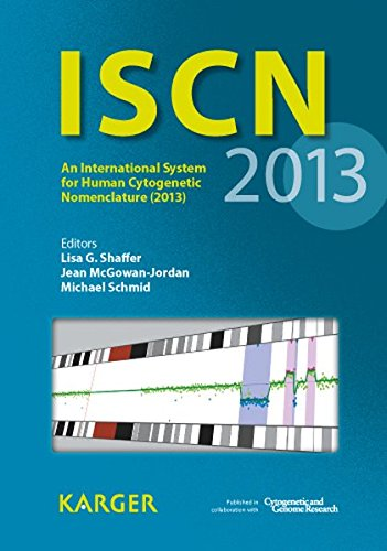 ISCN 2013 : An International System for Human Cytogenetic Nomenclature (2013)