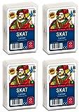 4er-Pack ASS Altenburger 22570006 - Skat Leinenprägung
