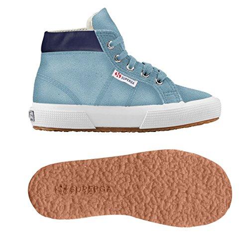 Superga - 2204 - Suej, Pantofole a Stivaletto Unisex – Bambini Blue Lt Relax