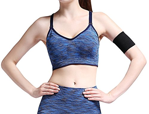 DODOING Nylon Spandex Removable Pads Comfort Shapewear Sports Bras Test