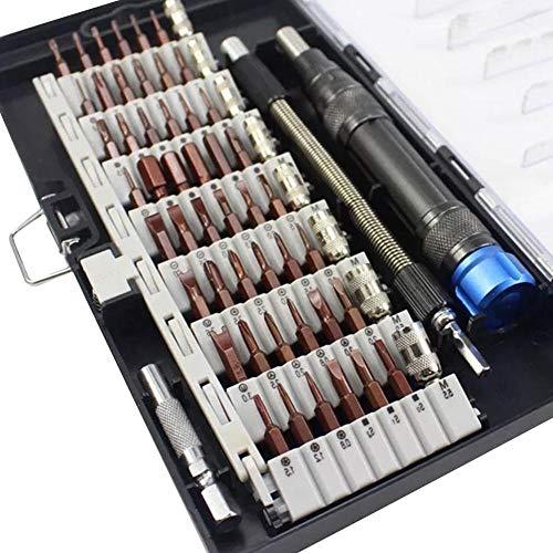 60-in-1 Präzisions-Schraubendreher-Set in Elektronik Reparaturwerkzeug für PC Laptop Tablet Handy Brille Uhr Kameras Elektronisches Spielzeug Tragbare Box Sets Kompakte Demontage - Elektronische Kamera Brille