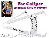 Gadget Hero's Skin fold Caliper Body Fat...