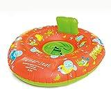 Zoggs Unisex– Babys Zoggy Trainer Seat Schwimmsitz, Schwimmlernhilfe, Orange/Green/Multi, 3-12 Monate