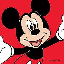 "Mickey Mouse rojo ""lienzo impresiones, multicolor 40x 40cm"