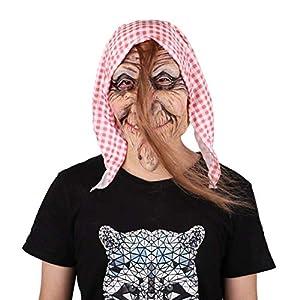Kaemma Máscara de Halloween Disfraz