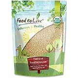 Food to Live Grain D'Amarante Organique (Graines Entières, Non-Gmo, En Vrac) (1 Livre)