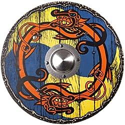 Juguetes manufactura del VAH 193 - Estable del Escudo de Viking Redondas, 41 cm