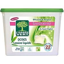 L'arbre vert Doses Lessive Liquide Savon Végétal x 22 580,8 g