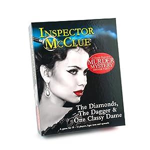 Paul Lamond 6315 - Juego de Cartas Inspector MC Clue The Diamonds Dagger y One Classy Dame