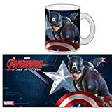 The Avengers 2 Age of Ultron Movie Keramiktassen 300ml) Captain America