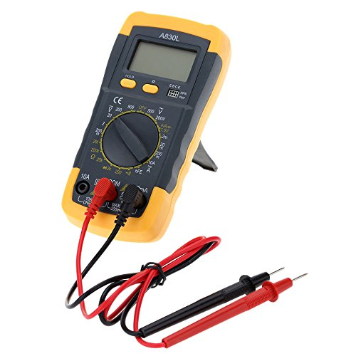 GuDoQi® Medidor de multímetro amperímetro AC DC