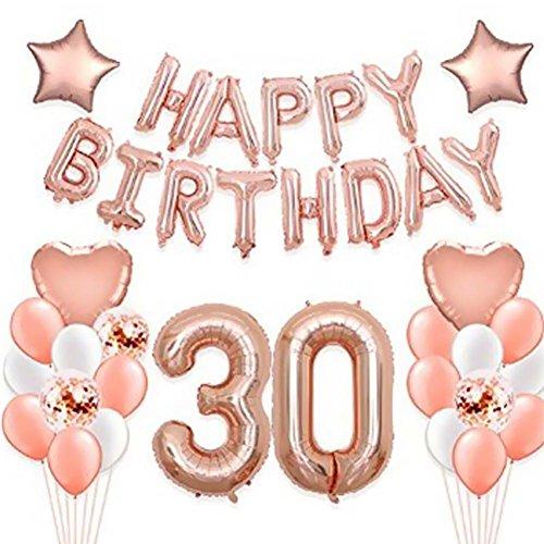 Happy 21st Birthday Balloon Banner