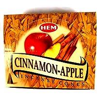 Räucherkegel HEM Cinnamon Apple Zimt - Apfel 12 Päckchen je 10 Kegel preisvergleich bei billige-tabletten.eu