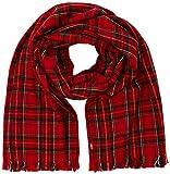Levi's Plendang Plaid Wrap Echarpe, Rouge (Red 287), Unique (Taille Fabricant:Un) Homme