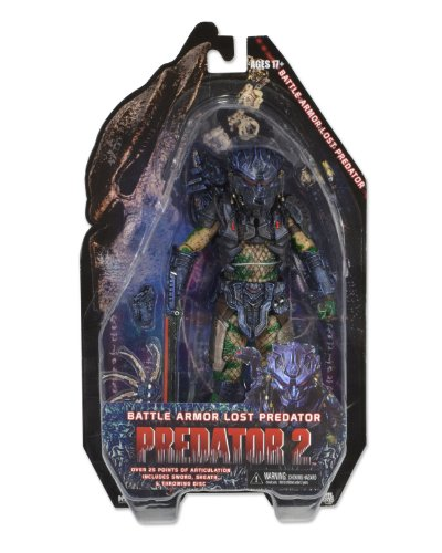 Predator - Armored Lost (Combat), serie 11, figura de 18 cm (Neca NEC0NC51500) 2