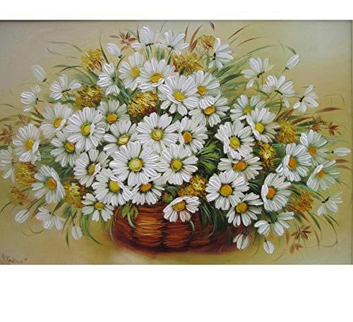 WZZPSD Puzzle1000Teile Sonnenblume-Vintage Digital-Kunst Für Einzigartiges DIY Holzpuzzle Einzigartiges Geschenk Wohnkultur Stil -