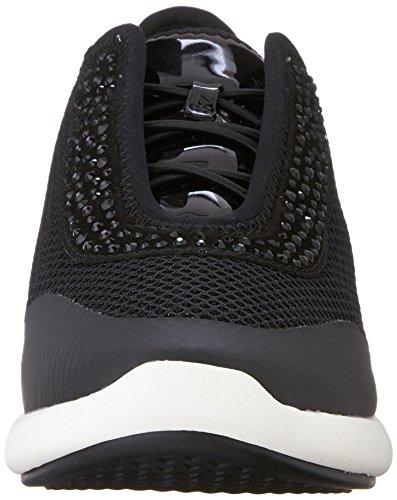 Geox D OPHIRA E, Sneakers Basses femme Noir (C9999)