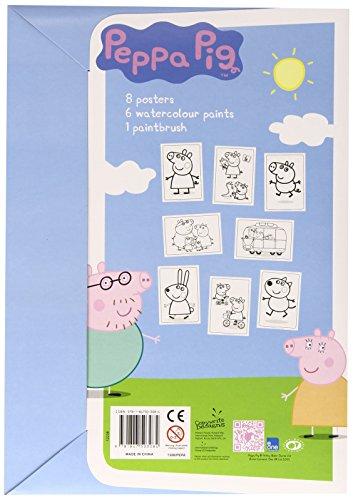 Alligator Books Peppa Pig Poster-Mal-Set
