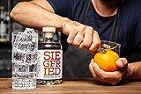 Siegfried Rheinland Dry Gin (1 x 0.5l) - vielfach mit Gold ausgezeichneter deutscher Premium Gin - 6