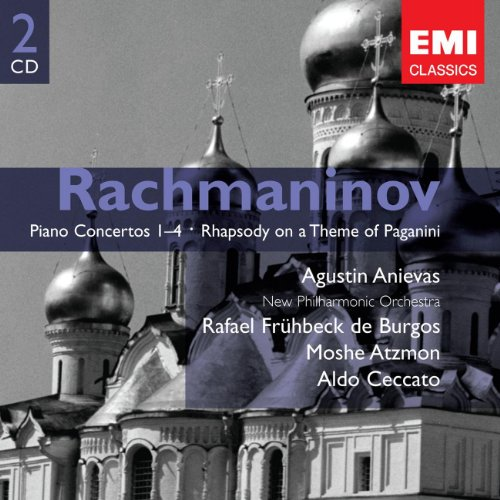 RACHMANIOV - Piano Conertos 1-4 - Rhapsody on a Theme of Paganini