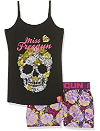 Freegun Ef.Gunskullf.Psh.Mz, Ensemble de Pyjama Fille