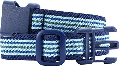 Playshoes Unisex - Kinder Gürtel 601401, Blau (hellblau/marine), 86-140