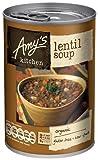 (8 PACK) - Amys Lentil Soup | 6 X 400g | 8 PACK - SUPER SAVER - SAVE MONEY