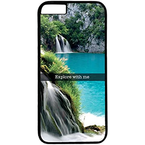 Cover di protezione per iPhone 6Plus/6S Plus–Fotografia Snap Explore with Me cascata caduta di acqua Laguna–ref 742