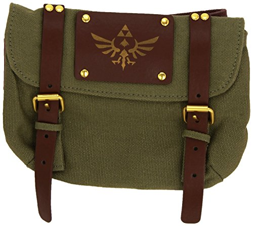 The Nintendo: Legend Of Zelda - Brown Zelda With Satchel