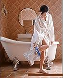 Aozzy Duschüberzug - wasserdichte Duschhülle zum Duschen mit Gips(Erwachsenes kurzes Bein) Test