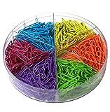 Leisial, 600x graffette colorate piccole da 28 mm